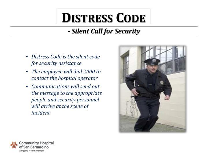 Distress Code