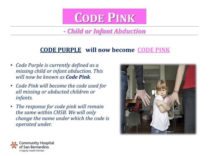 Code Pink