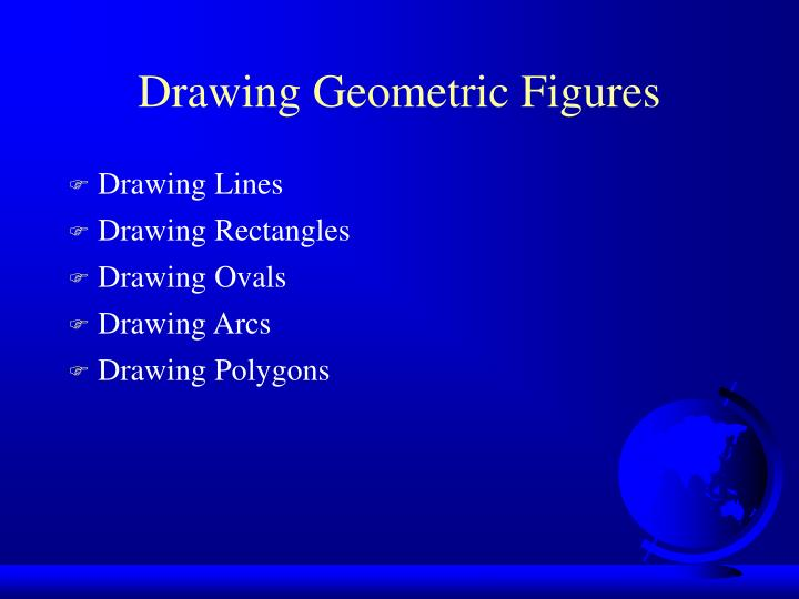 Drawing Geometric Figures
