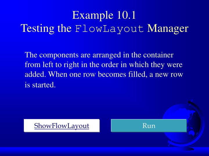 Example 10.1