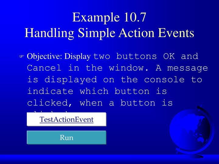 Example 10.7