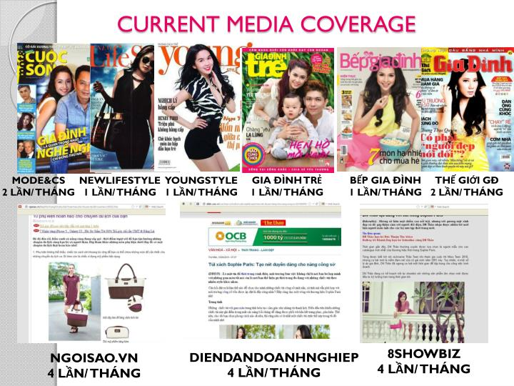CURRENT MEDIA COVERAGE