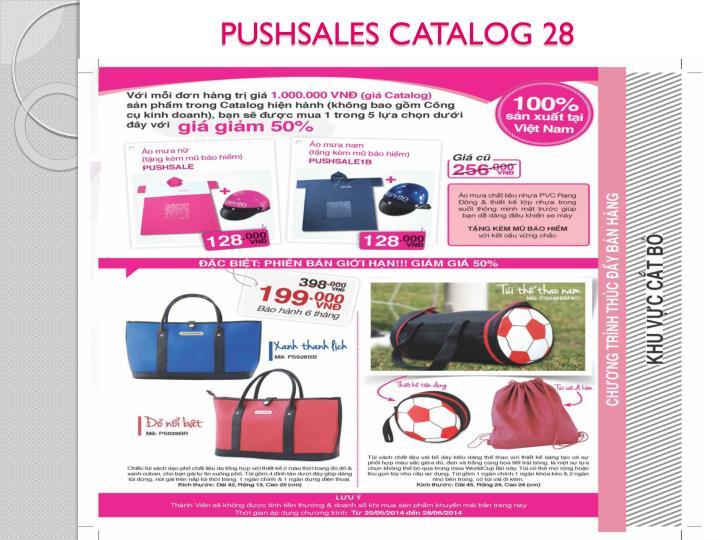 PUSHSALES CATALOG 28