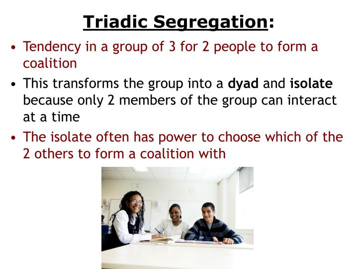 Triadic Segregation