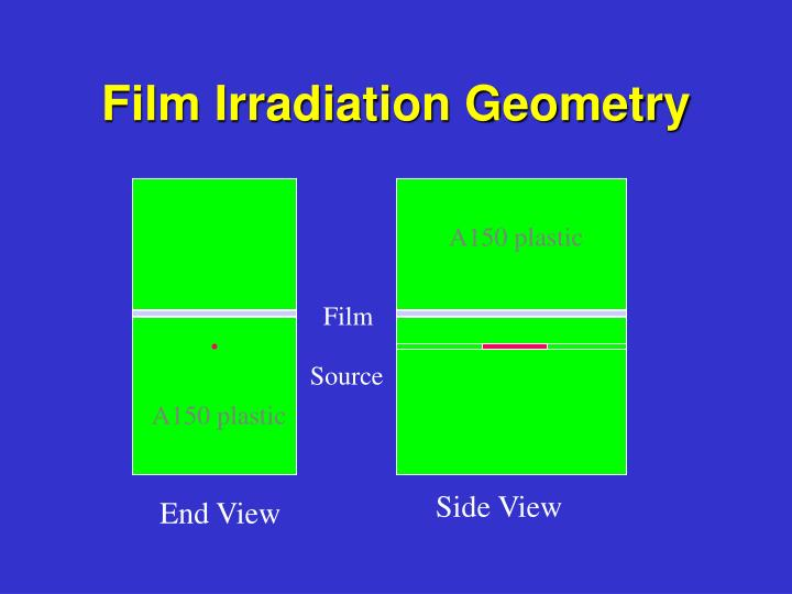 Film Irradiation Geometry