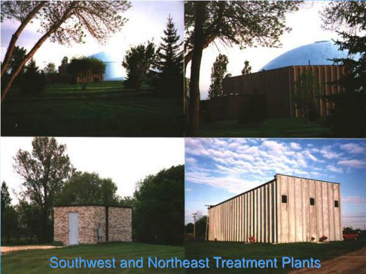 Southwest and Northeast Treatment Plants