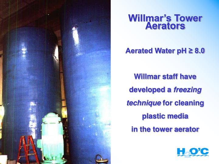Willmar's Tower Aerators