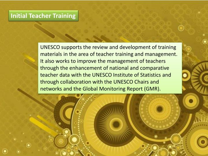 Initial Teacher Training