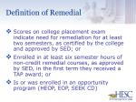definition of remedial