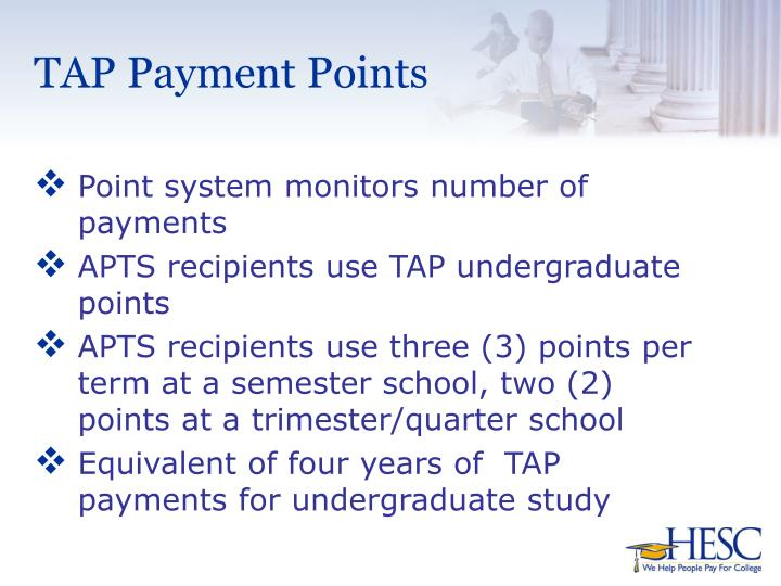 TAP Payment Points
