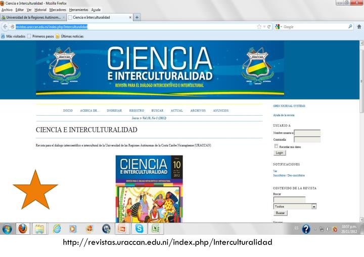 http://revistas.uraccan.edu.ni/index.php/Interculturalidad