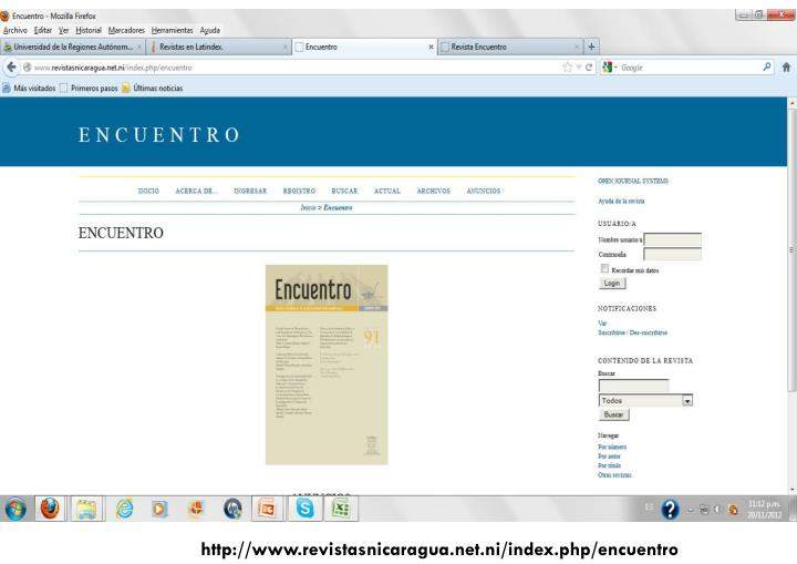 http://www.revistasnicaragua.net.ni/index.php/encuentro