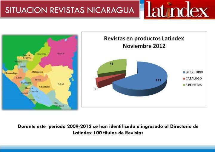 SITUACION REVISTAS NICARAGUA