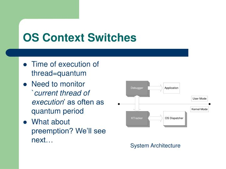 OS Context Switches