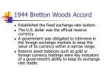 1944 bretton woods accord