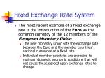 fixed exchange rate system1