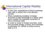 international capital mobility1