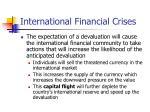 international financial crises1