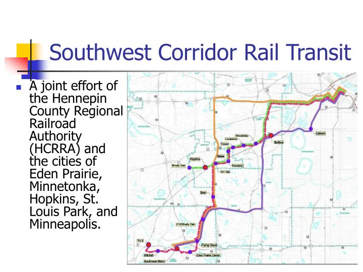 Southwest Corridor Rail Transit