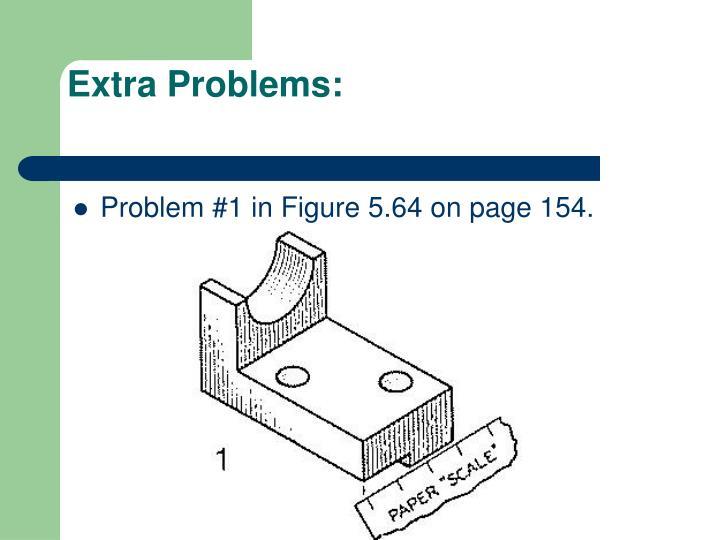 Extra Problems: