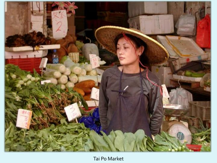 Tai Po Market