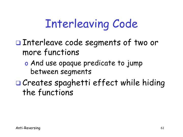 Interleaving Code