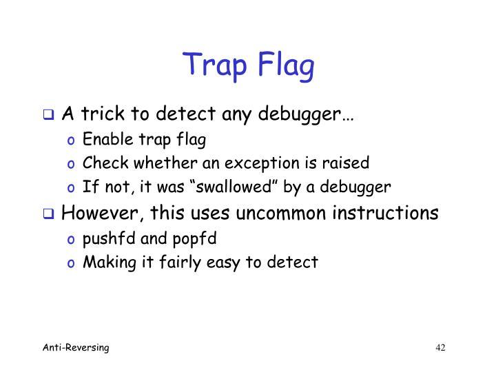 Trap Flag