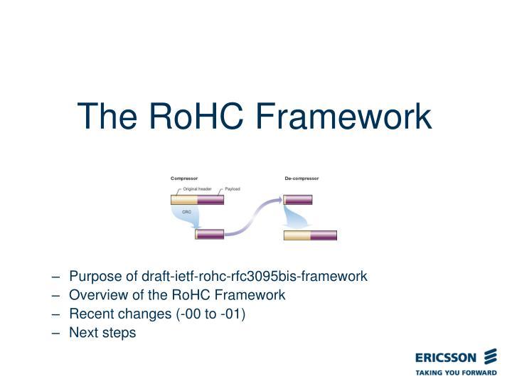 The RoHC Framework