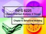 infs 6225 object oriented analysis design