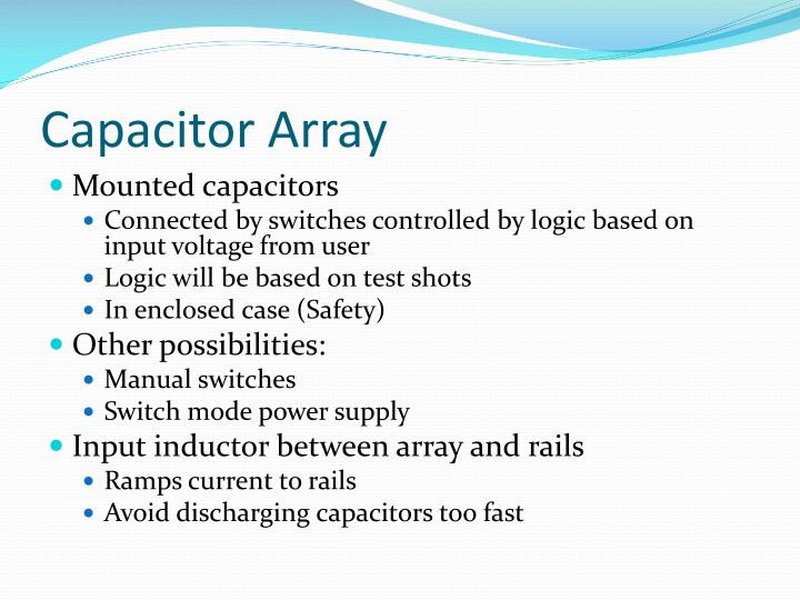 Capacitor Array