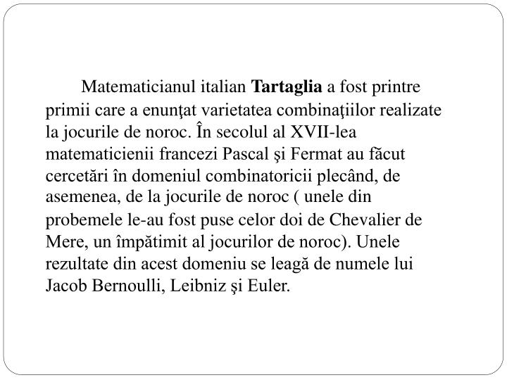 Matematicianul italian