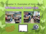 chapter 5 examples of hold ups1