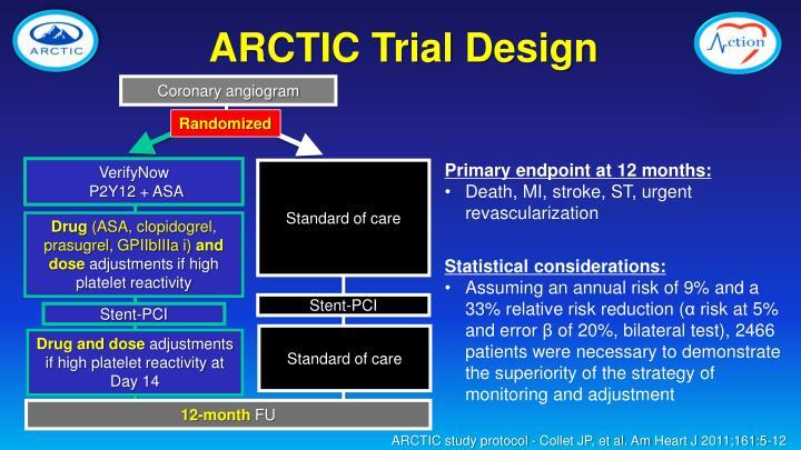 ARCTIC Trial Design