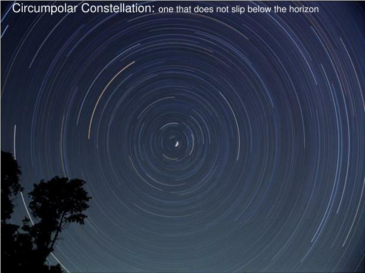 Circumpolar Constellation: