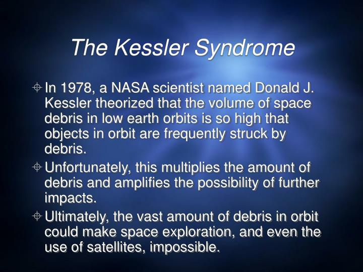 The Kessler Syndrome