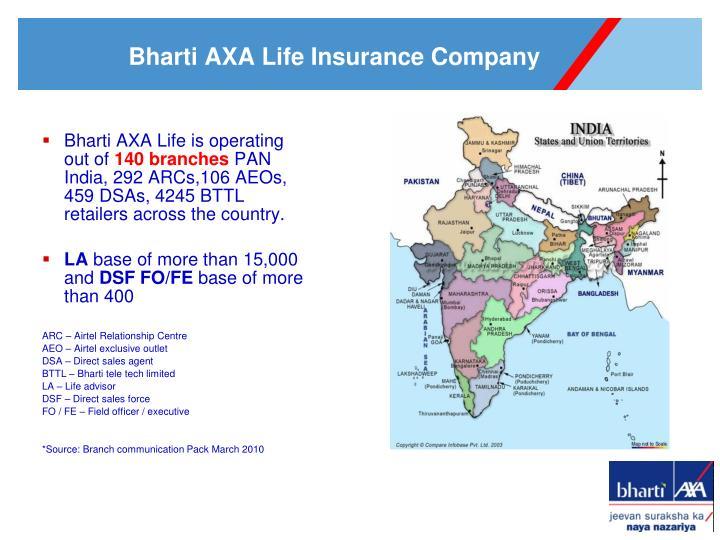 Bharti AXA Life is o