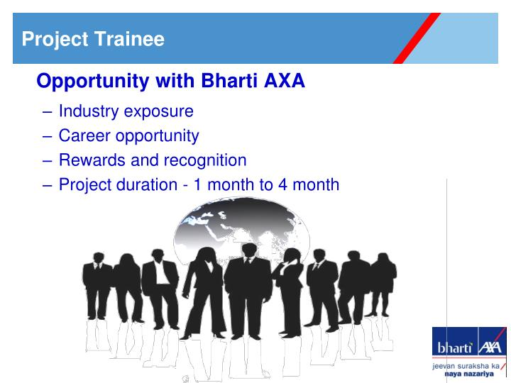 Opportunity with Bharti AXA