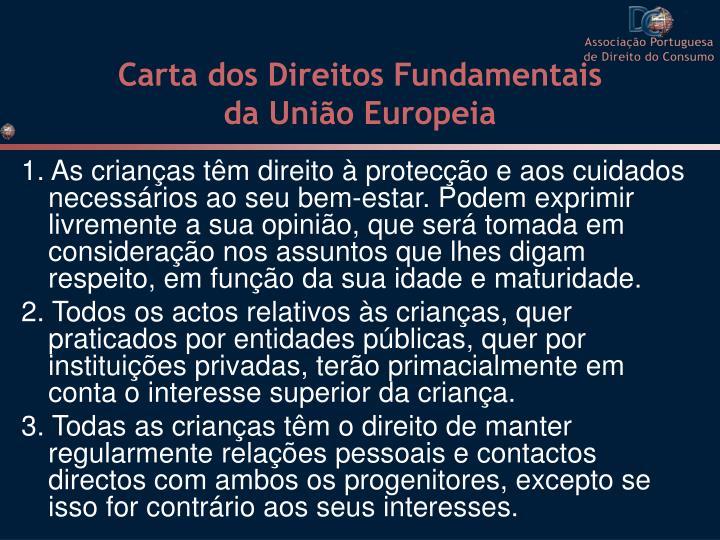 Carta dos Direitos Fundamentais