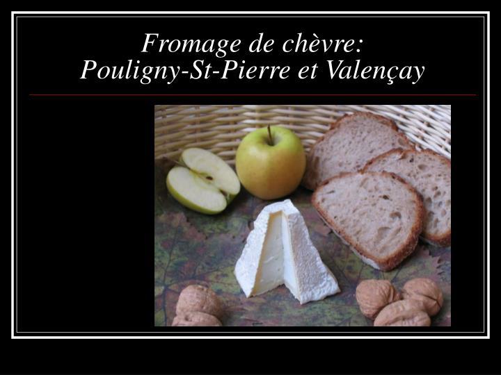 Fromage de chèvre: