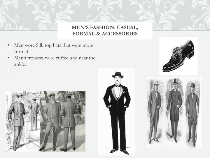 Men's fashion: Casual, formal & accessories