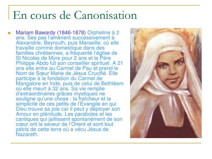 Mariam Bawardy (1846-1878)