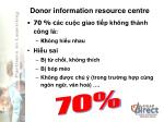 donor information resource centre