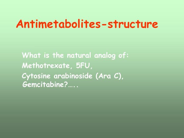 Antimetabolites-structure
