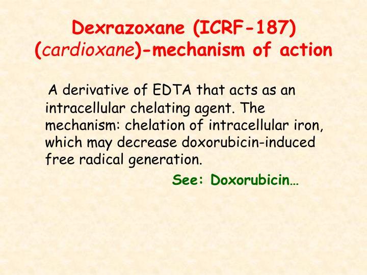 Dexrazoxane (ICRF-187) (