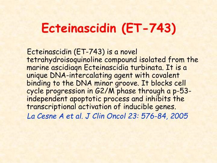 Ecteinascidin (ET-743)
