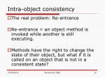 intra object consistency