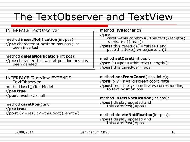 INTERFACE TextObserver