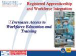 registered apprenticeship and workforce integration1