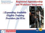 registered apprenticeship and workforce integration5