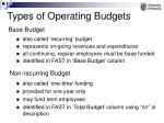 base budget